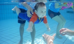 dạy bơi cho trẻ sơ sinh, dạy bơi cho bé, dạy bơi trẻ em