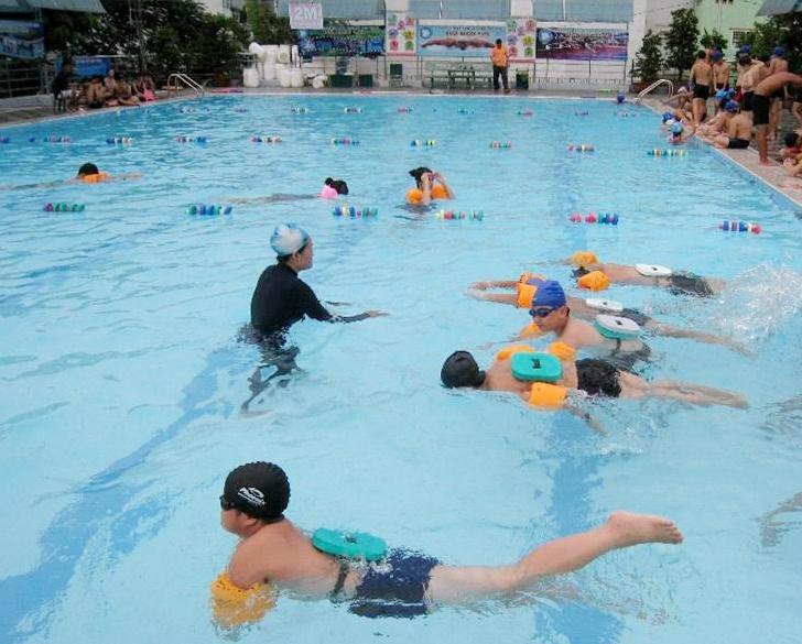 Học Bơi Nhà Thiếu Nhi Quận 6 Tphcm