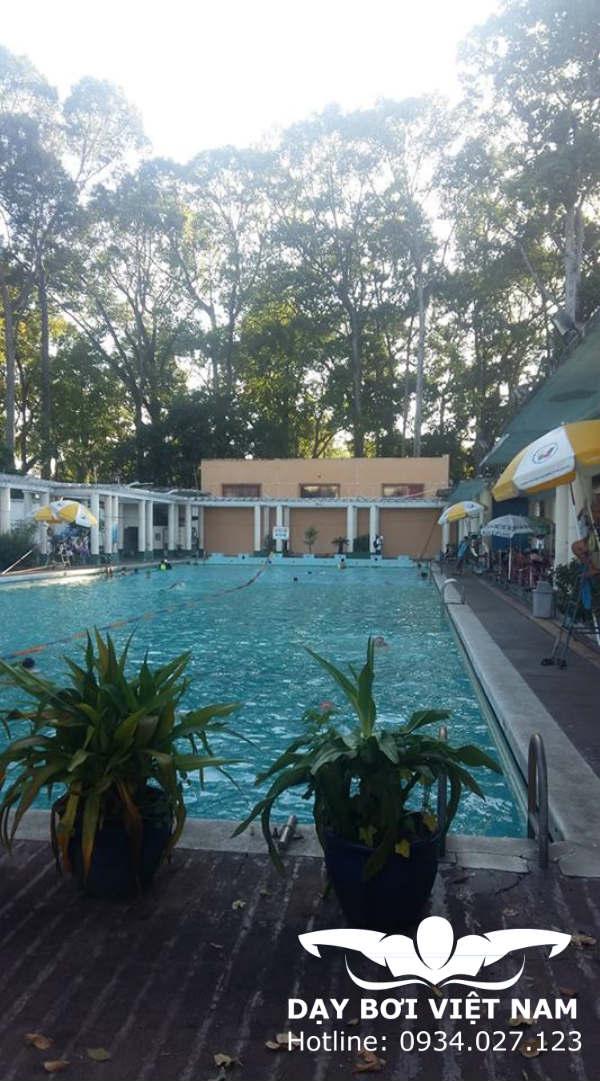 Hồ bơi Lao Động thuộc cung VHLĐ TP