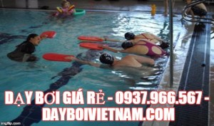 dạy bơi giá rẻ tại Hồ Chí Minh, học bơi giá rẻ nhất tại Hà Nội