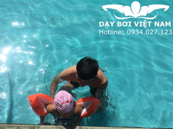 Học bơi ở Parkson Hùng Vương TPHCM